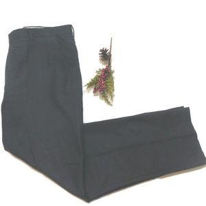 Jos.A.Bank Men's Wool Trouser Dark Gray